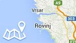 Mapa Rovinj