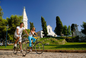 Sport - biking in Rovinj